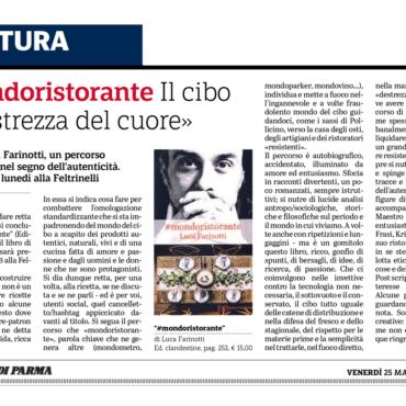 """#mondoristorante. Il cibo è """"destrezza del cuore"""". Il libro di Luca Farinotti. Un percorso di formazione nel segno dell'autenticità"""