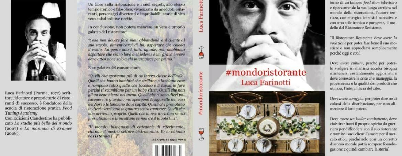#mondoristorante di Luca Farinotti in libreria dal 24 maggio 2018: l'agenda degli eventi
