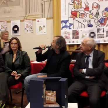 Luca Farinotti #mondoristorante. Presentazione Premio Bancarella della cucina 2019