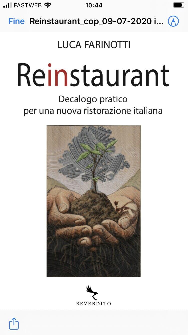 Reinstaurant un manuale pratico per ripensare la nuova ristorazione