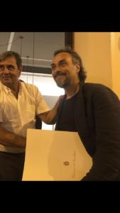 Luca Farinotti a Gualtieri